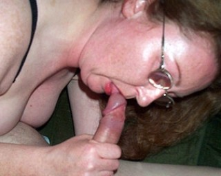 This big lady loves to munch on cock