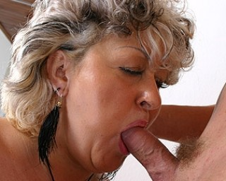 Big mama riding a hard cock