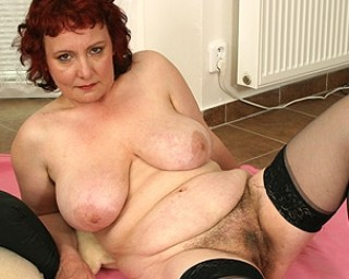 This chunky mama really needs a hard cock
